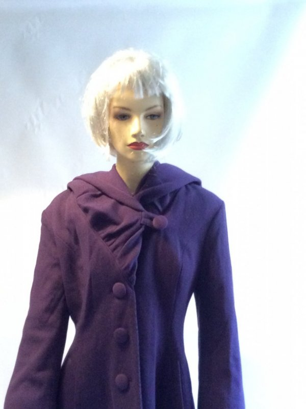Manteau Violet Marianne James
